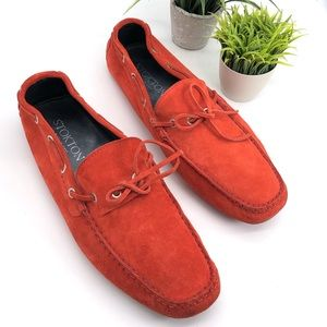 Stokton Made In Italy Mens Classic Driving Loafers